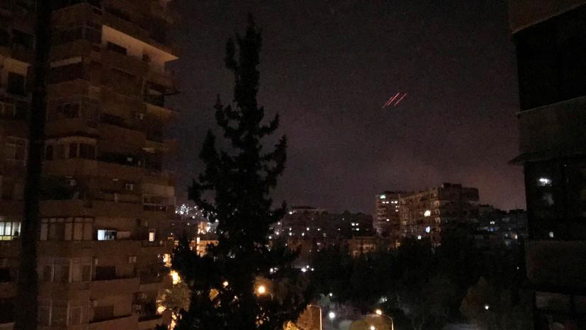 Israel interceptó cuatro cohetes lanzados desde Siria