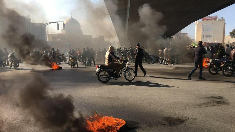 """Irán advierte de """"medidas decisivas y revolucionarias"""" si continúan los disturbios en el país"""