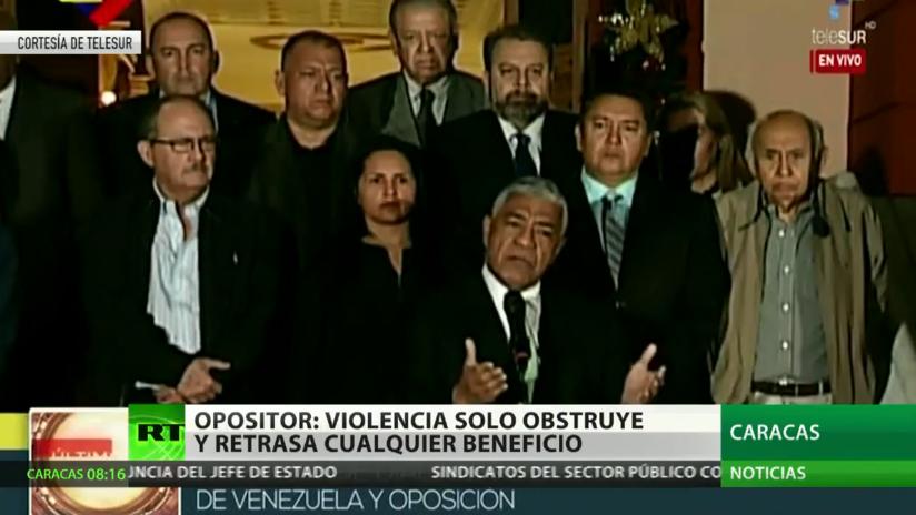 Gobierno y oposición de Venezuela logran consensos en la mesa de diálogo