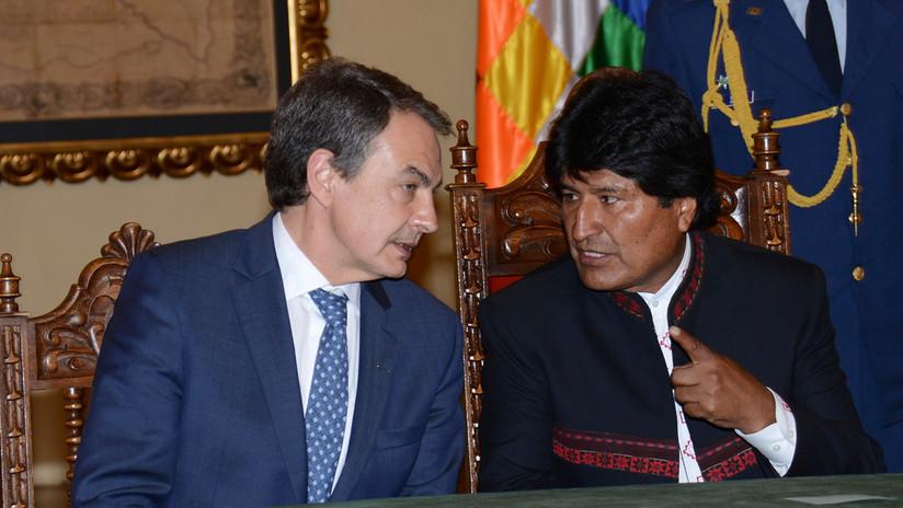 Evo Morales menciona a España para ayudar a pacificar Bolivia e insiste en Zapatero como mediador