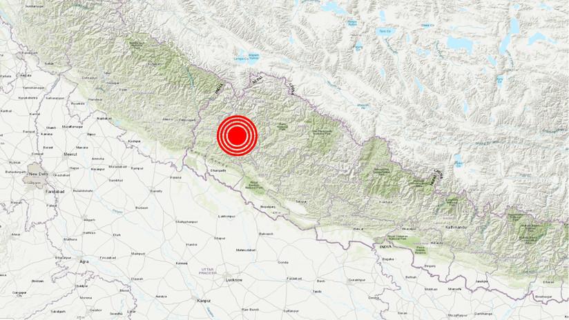 Un sismo de magnitud 5,9 se registra en Nepal