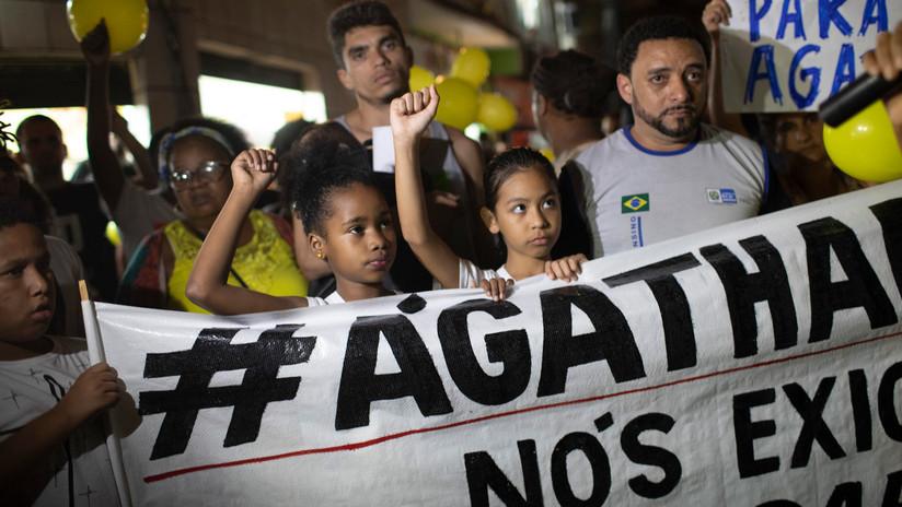 Investigación concluye que fue un policía militar el que mató a la niña de 8 años cuyo caso conmocionó a Brasil