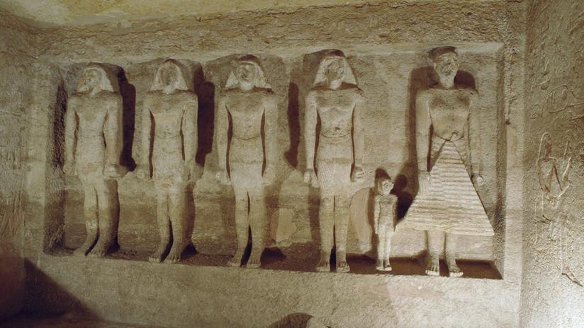 FOTOS: Egipto abre al público las tumbas de dos altos funcionarios del Imperio Antiguo