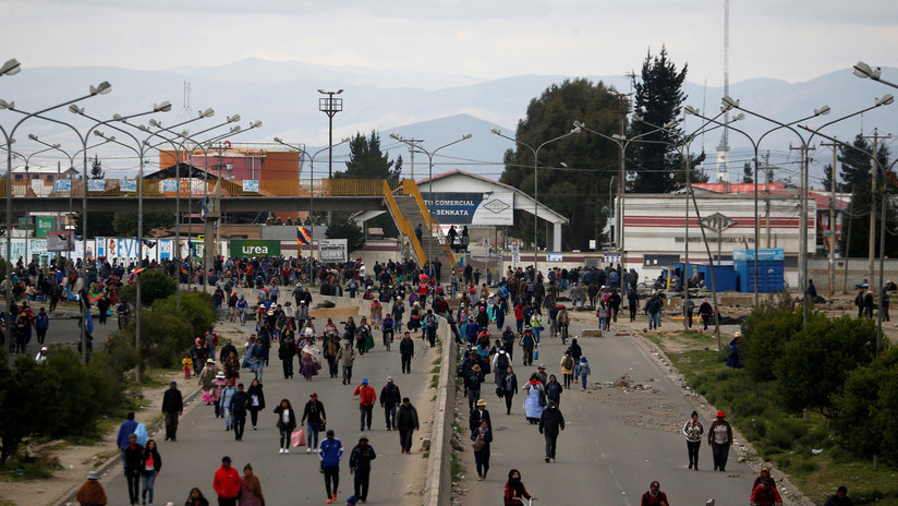 Operativo militar en la planta de hidrocarburos boliviana de Senkata deja al menos seis muertos (VIDEOS)