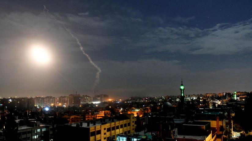 SANA: Sistema de defensa antiaérea de Siria derriba misiles lanzados por Israel contra Damasco
