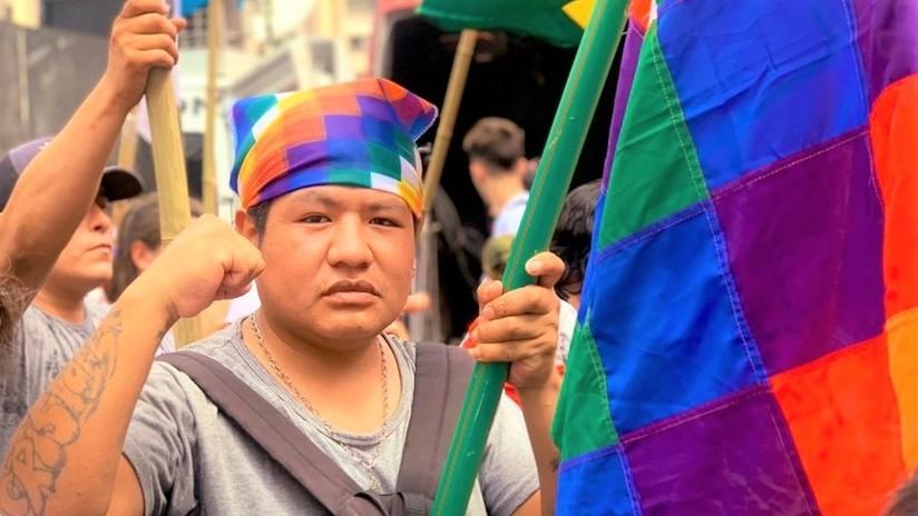 Defender la wiphala y saltar el cerco mediático: ¿cómo viven los bolivianos en Argentina el golpe de estado?