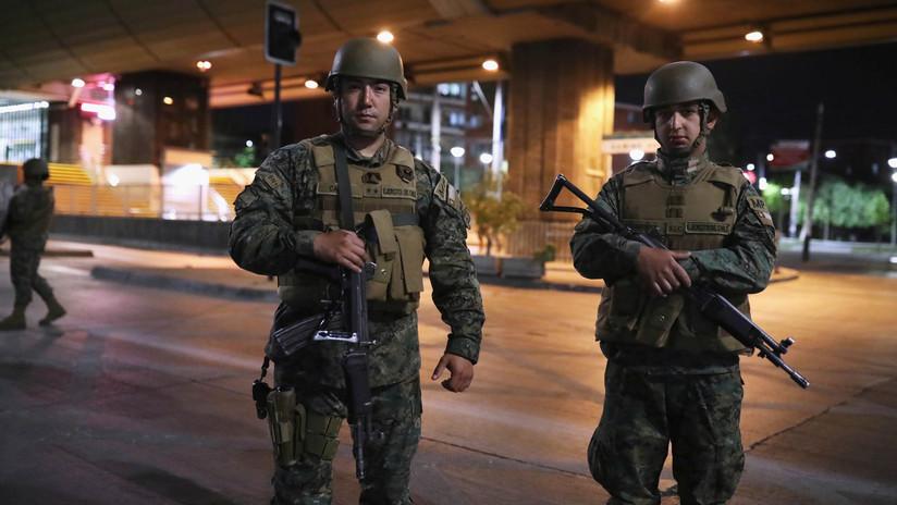 """Justicia de Chile considera """"ilegal"""" toque de queda decretado por el jefe de Defensa de La Serena y le ordena """"abstenerse"""" de tales procederes"""