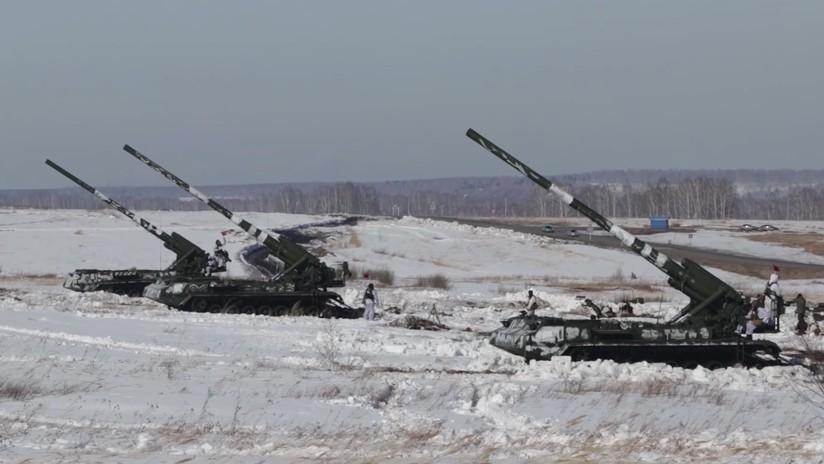 VIDEO: Los cañones autopropulsados más potentes de Rusia, en acción