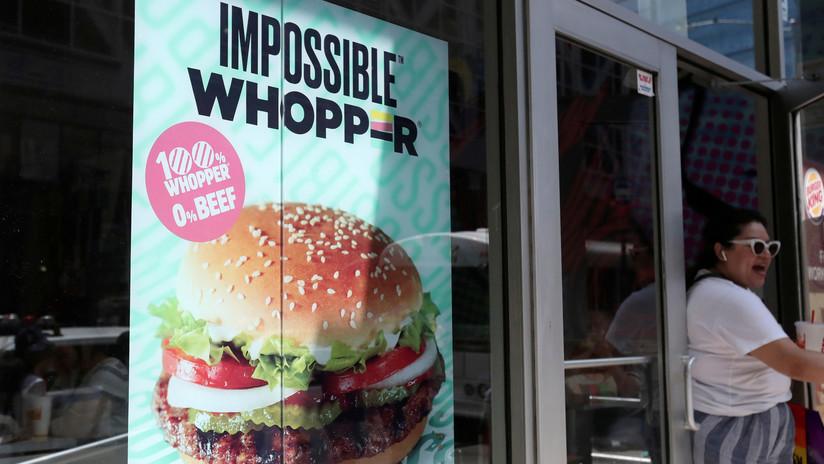 Demandan a Burger King por contaminar hamburguesas con 'carne vegetal' con productos cárnicos