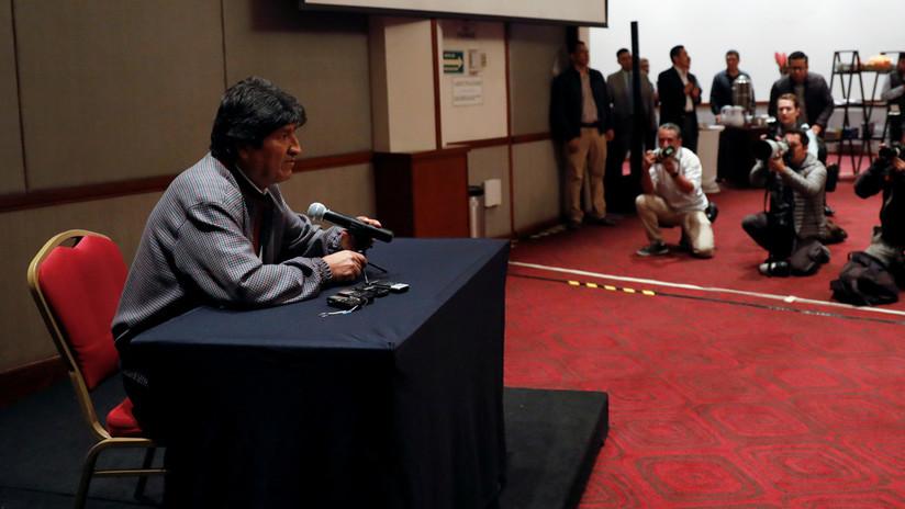 """Evo Morales dice que la nacionalización de recursos es el fondo del conflicto en Bolivia: """"No aceptan que los indios gobiernen"""""""