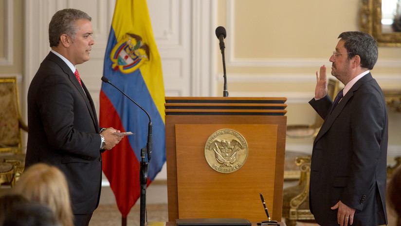 Duque pide a embajador de Colombia en EE.UU. regresar al país tras polémico audio