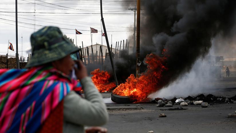 Aumentan a ocho los fallecidos en Bolivia tras represión policial en planta de hidrocarburos de Senkata