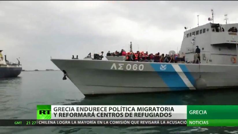 Grecia endurece su política migratoria y anuncia la reforma de los centros de refugiados