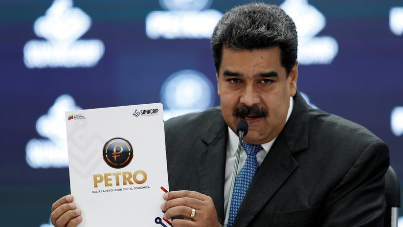 Maduro emite licencia por 30 millones de barriles de petróleo para respaldar la criptomoneda Petro