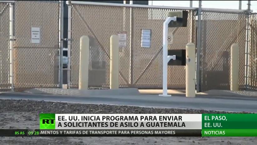 EE.UU. inicia un programa para enviar a solicitantes de asilo a Guatemala