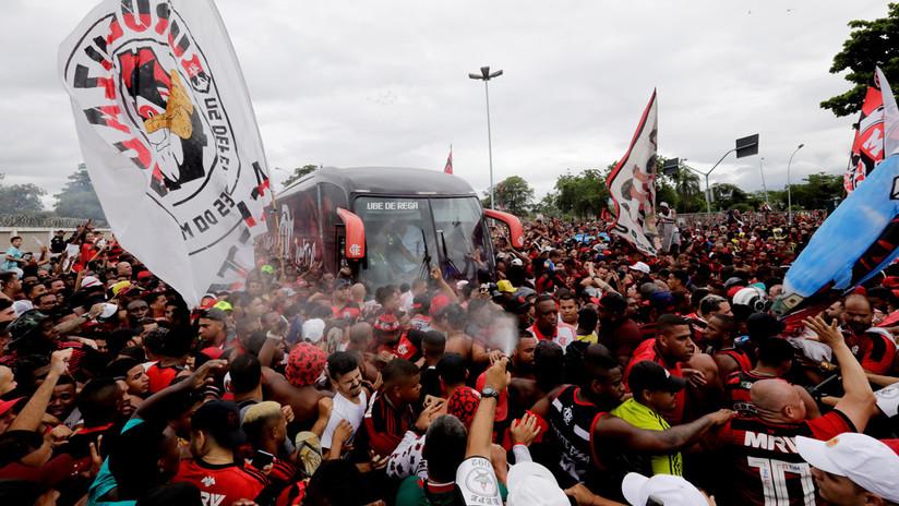 La Conmebol pide a Perú prohibir el ingreso de 1.500 miembros de las barras bravas del Flamengo