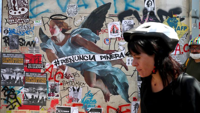 El grafiti como herramienta de protesta contra el Gobierno de Sebastián Piñera