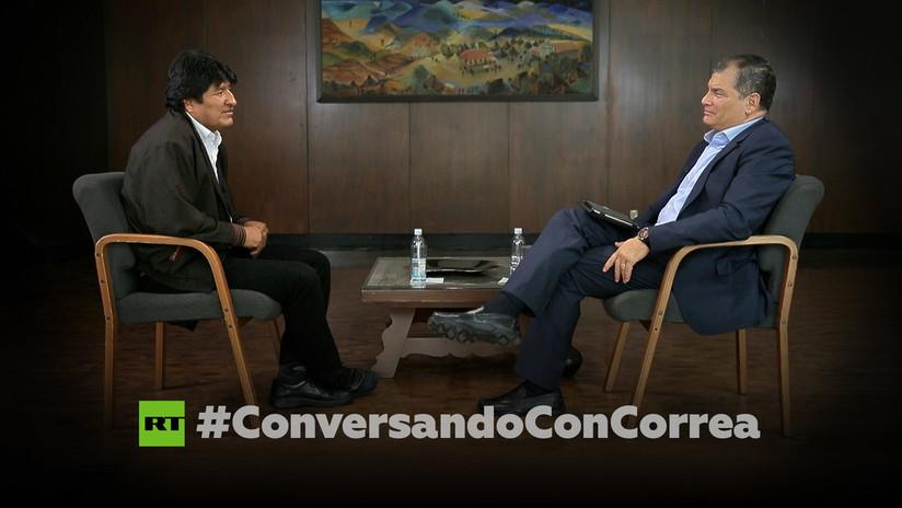 """Morales a Correa: """"El litio jugó un factor importante en el golpe de Estado"""""""