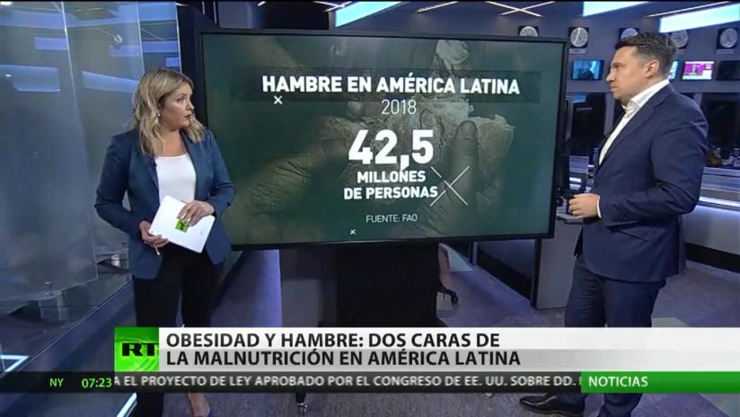 Obesidad y hambre: dos caras de la malnutrición en América Latina