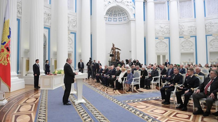 """Putin: """"Los empleados que murieron en la explosión en una prueba de un sistema de propulsión en Rusia elaboraban tecnologías sin análogos en el mundo"""""""