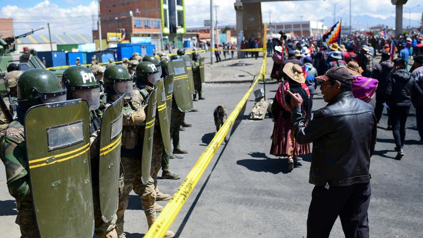 Represión, ataques a la prensa y posibles elecciones: los primeros días del Gobierno de facto en Bolivia
