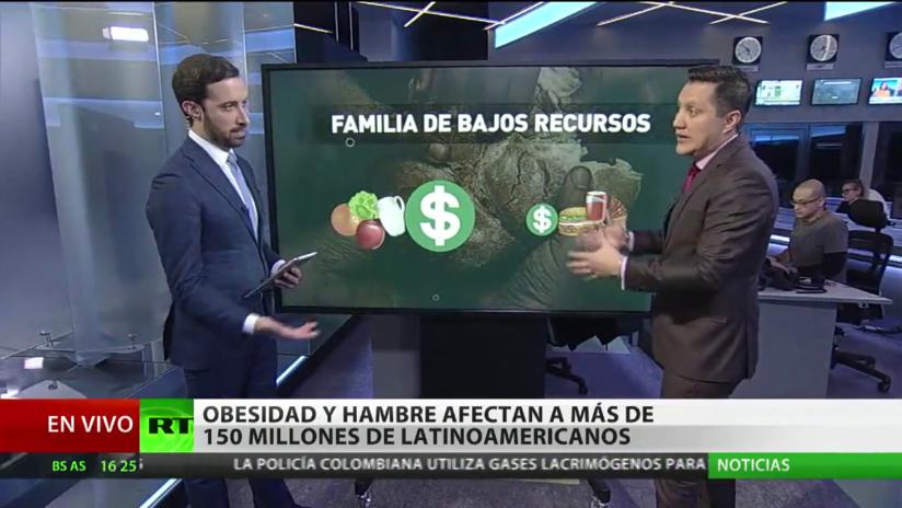 La obesidad y el hambre afectan a más de 150 millones de personas en América Latina