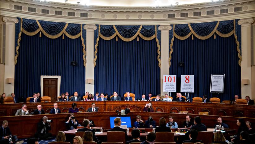 Trump quiere que el juicio político en su contra pase al Senado y que los Biden estén entre los testigos