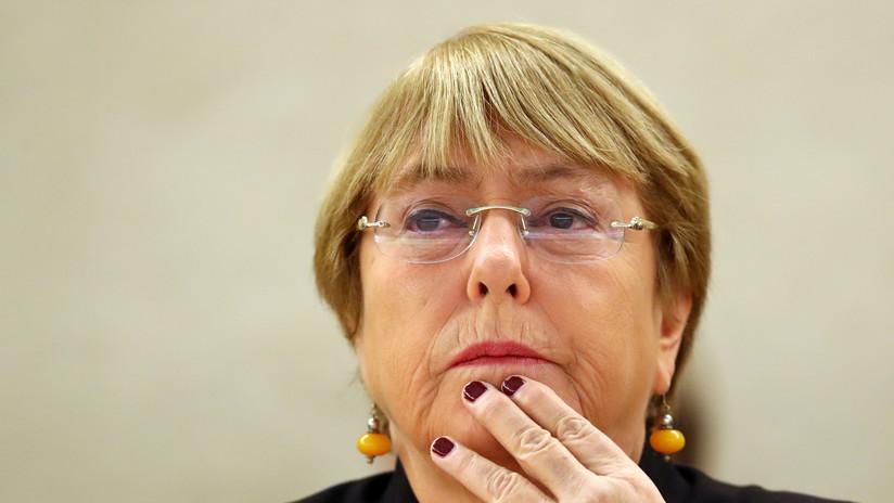 """Bachelet considera que los Carabineros """"no están siguiendo los protocolos"""" durante las protestas en Chile"""