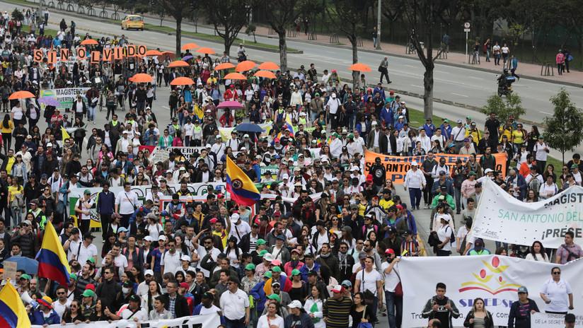 Comité de paro en Colombia solicita diálogo inmediato con el presidente Iván Duque