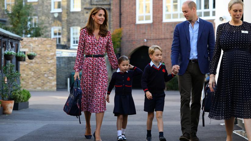 Guillermo de Inglaterra y Kate Middleton reprenden a un locutor de radio por burlarse de su hija en directo