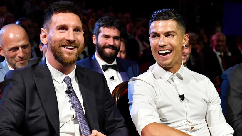 """""""Sí, pero Messi no se ve así"""": la respuesta de Cristiano Ronaldo cuando sus compañeros lo comparaban con el argentino"""