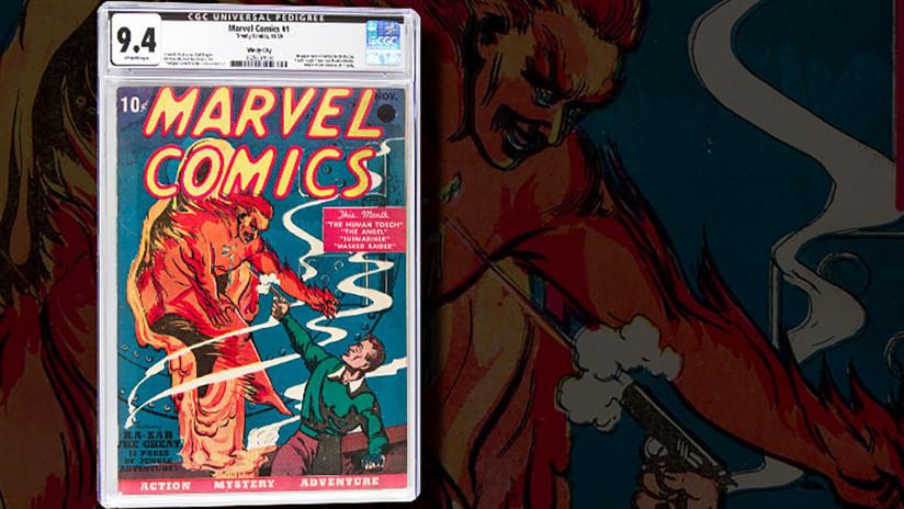 Subastan el primer número de Marvel Comics por más de 1 millón de dólares
