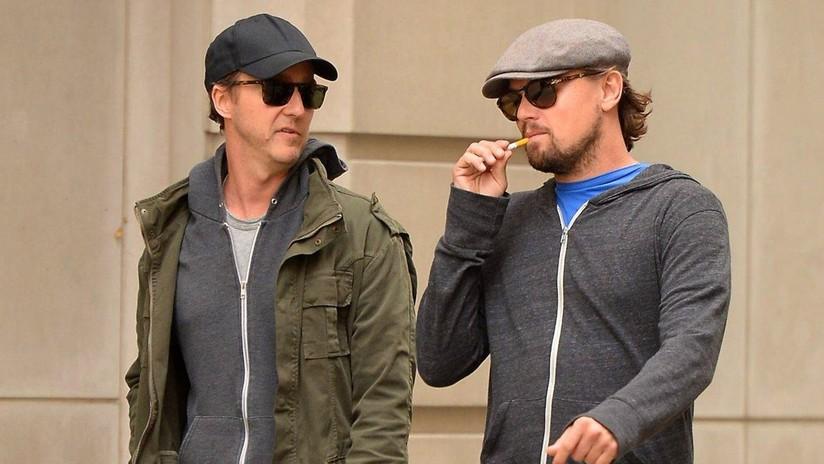 Edward Norton cuenta cómo le salvó la vida a Leonardo DiCaprio