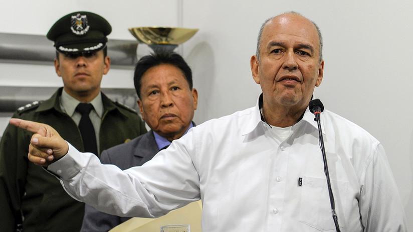 """Gobierno de facto de Bolivia denuncia a Evo Morales ante la Fiscalía por """"sedición y terrorismo"""""""