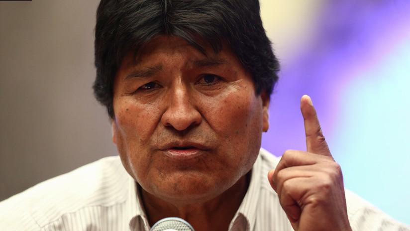 Gobierno de facto de Bolivia pide interrogar a Evo Morales en México por el delito de sedición