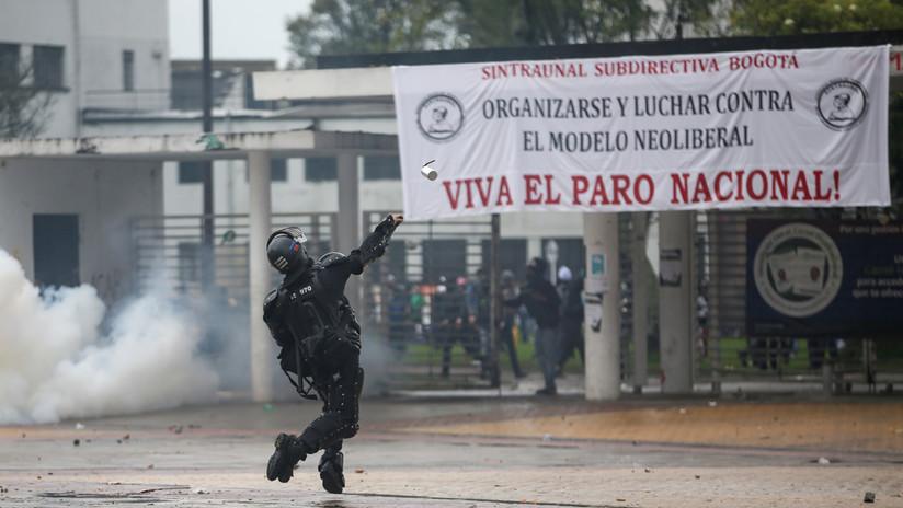 """""""Los paros van a continuar en todo el país"""": líder sindical de Colombia pide a Duque atender las demandas sociales"""
