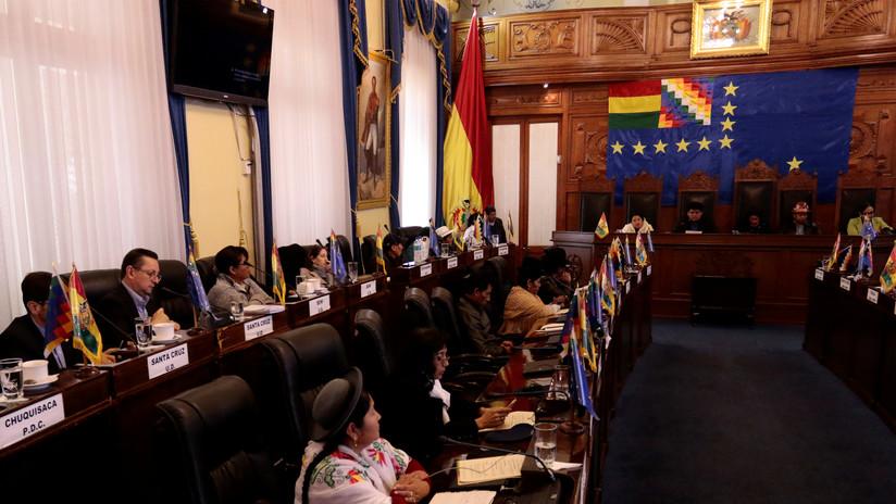 Comisión de Constitución presentará el sábado un proyecto de ley para convocar elecciones en Bolivia