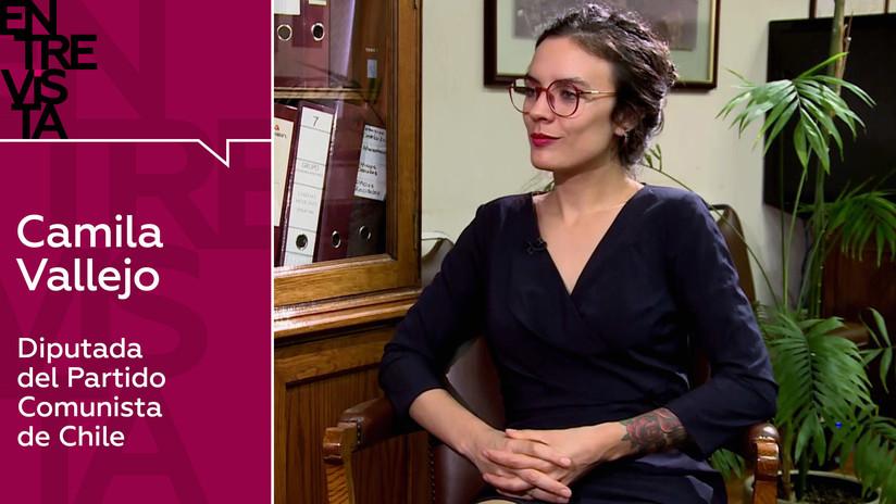 """Diputada chilena Camila Vallejo: """"América Latina no ha aprendido nada respecto a los golpes de Estado"""""""
