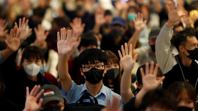 """China advierte a Canadá de """"un daño muy grave"""" en sus relaciones si apoya las protestas en Hong Kong"""