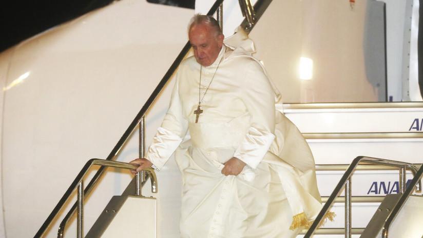 Arranca la visita del papa Francisco a Japón, donde se espera que pronuncie un mensaje antinuclear