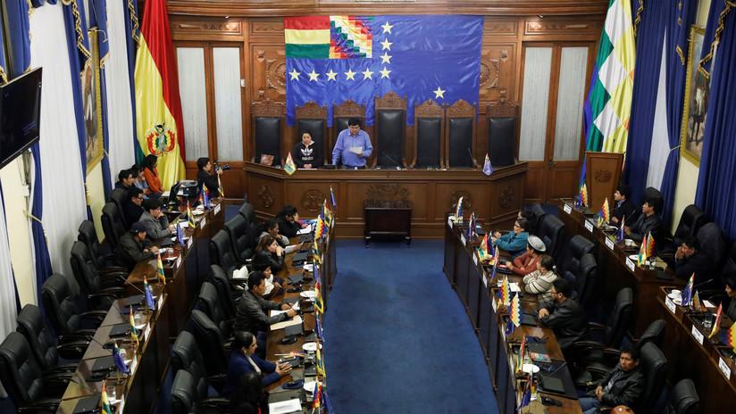 Senado de Bolivia aprueba por unanimidad el proyecto de ley para convocar elecciones generales
