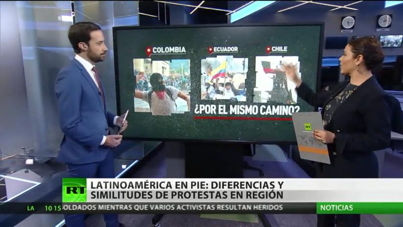 Latinoamérica en pie: diferencias y similitudes de las protestas en la región