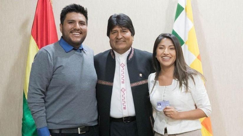 El avión con los hijos de Evo Morales aterriza en Argentina