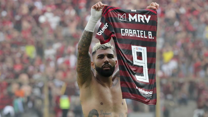'Gabigol' rompe la 'maldición' de tocar la Copa Libertadores y causa revuelo en las redes