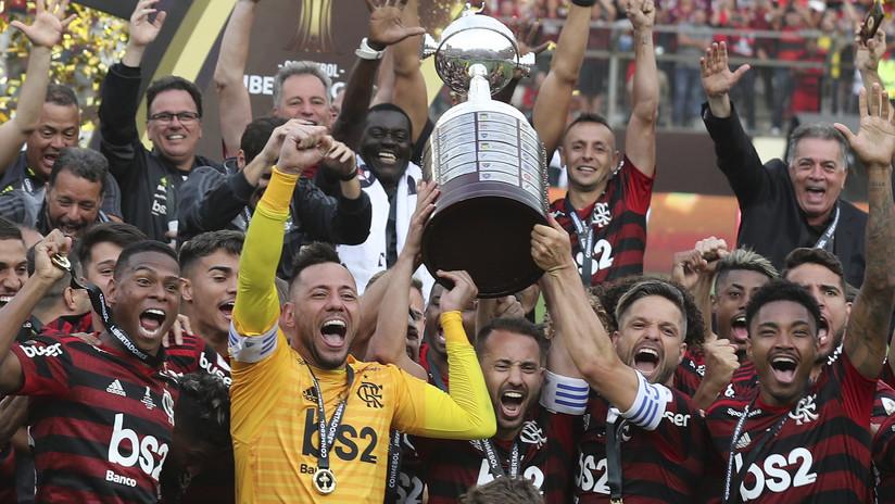 El Flamengo logra una increíble remontada en los últimos minutos y se corona campeón de la Copa de Libertadores