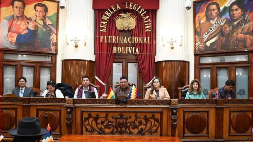 La Asamblea Legislativa Plurinacional da el visto bueno por unanimidad al proyecto de ley para nuevas elecciones generales en Bolivia