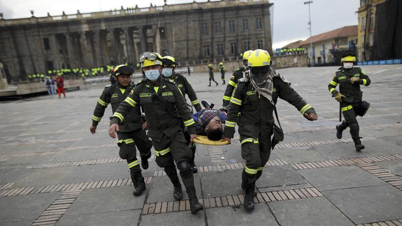 """Duque ordena investigación """"urgente"""" tras resultar gravemente herido un joven impactado en la cabeza por una granada del Esmad"""