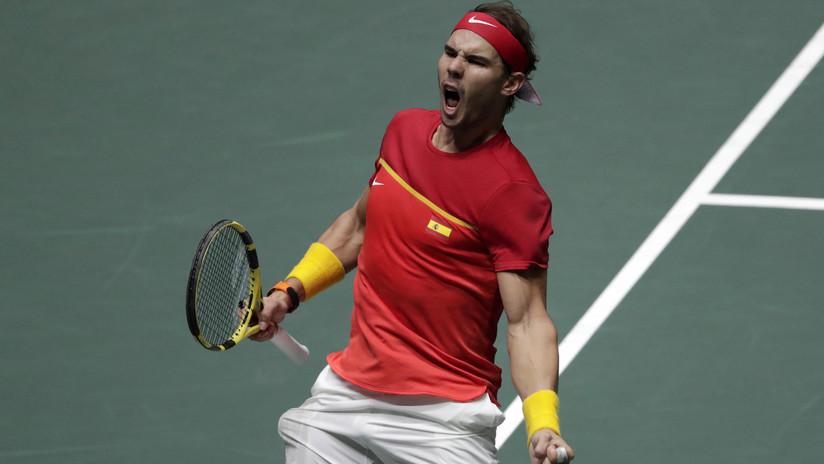 Rafael Nadal le da a España su sexta Copa Davis