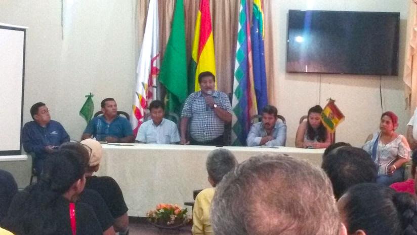 Dictan prisión preventiva en Bolivia contra el vicepresidente del partido de Evo Morales