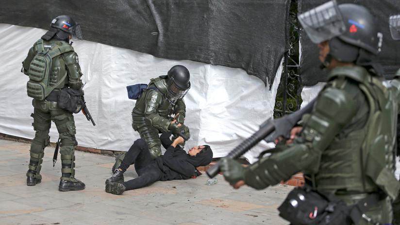 Toques de queda y militares en las calles: Colombia se suma a las protestas contra el neoliberalismo